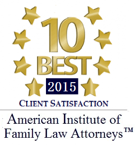 American Institute of Family Law Attorneys -- 10 Best 2015
